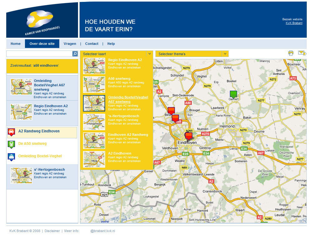 webdesignbureau.nl-KvK-kaarten-webapplicatie