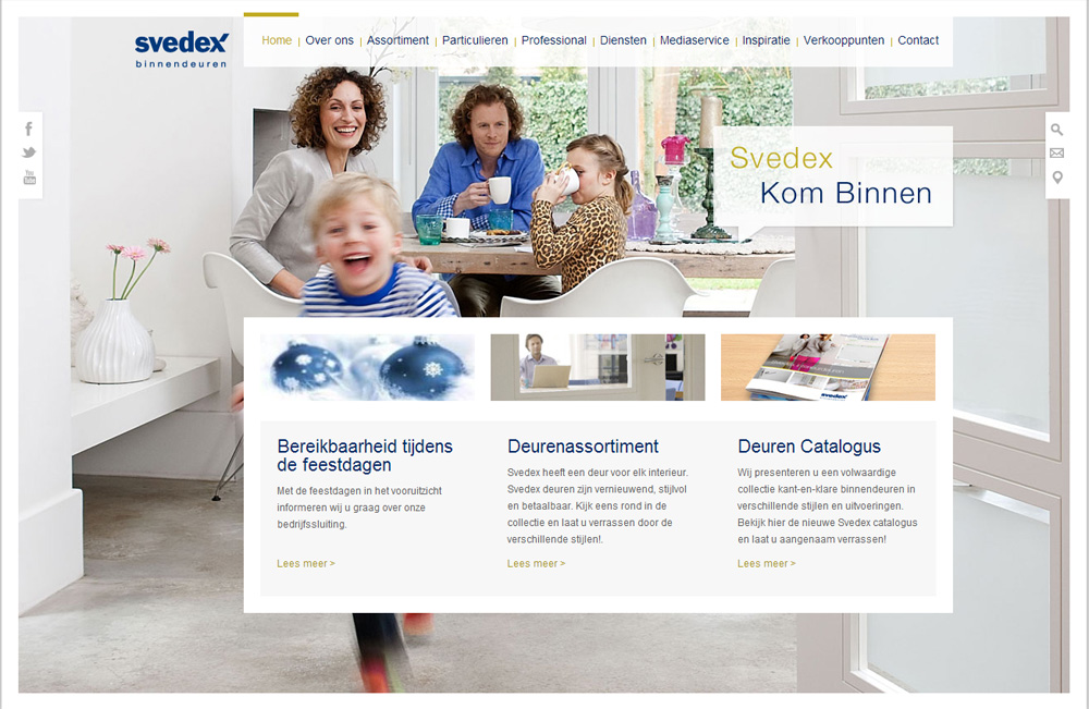 webdesignbureau.nl-webdesign-portfolio-svedex-website